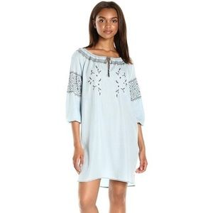 Cupcakes and Cashmere Boho Embroidered  Dress XS